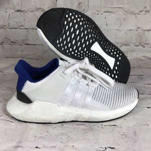 Adidas originals EQT Support 93-17 White Blue Blk